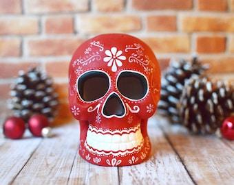 Christmas Sugar Skull