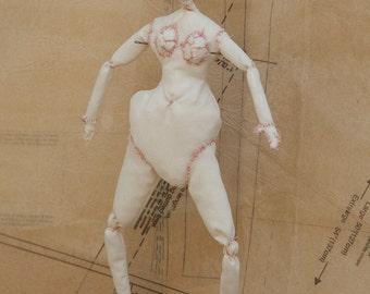 Art Doll, Art, Doll, Fine Art, Fiber Art, Wall Art, Sculpture, Figurative Art, Cloth Doll, Fabric Doll, Soft Sculpture, Stitched Doll, Art