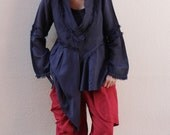 30 USD sell ..I am yours .... Long sleeve asymmetric blouse...Mix silk All colour All size