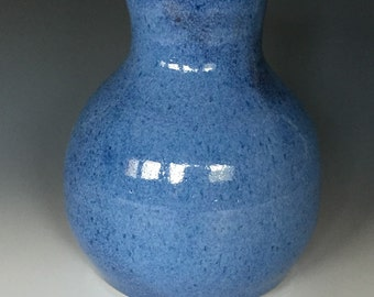 Sky Blue Stoneware Vase