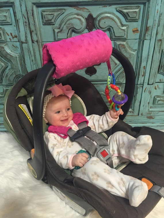 carseat bar pad YOU pick mink color