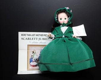 1986 Madame Alexander Doll, Scarlett O'Hara, Madame Alexander Doll Vintage
