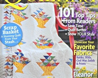 American Patchwork and Quilting, April 2010 Issue