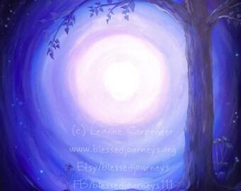 Safe Place, Original Art by Leanne Carpenter Canvas Print