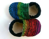 tribal baby shoes rainbow baby shoes black shoes for baby soft sole shoes tribal booties aztec baby shoes aztec booties tribal crib shoes