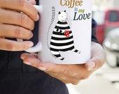 Gato Tasse chat Cat mug cat cup Tazas gatos Cat coffee mug Kitty mug Cat lover mugs Crazy cat lady mug Coffee cups Funny mug coffee art