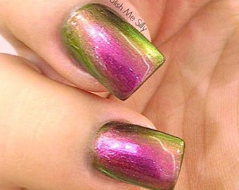 Mega Multichrome (Mystery)  Multi-Color Shifting Polish:  Custom-Blended Glitter Nail Polish / Indie Lacquer / Polish Me Silly