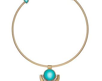 Capri Convertible Open Collar Necklace