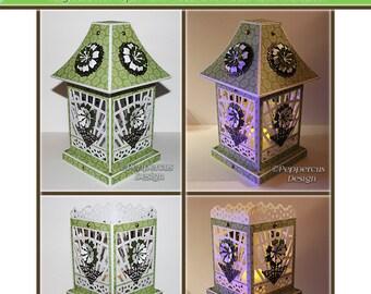 Plotter file - 3D Lantern trellis