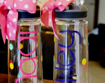 Personalized Water Bottle,Children Gift,Customer Gift,Sport Bottle,Personalized Tumbler,Teacher Gifts,Bridesmaid Gifts,Water Bottle