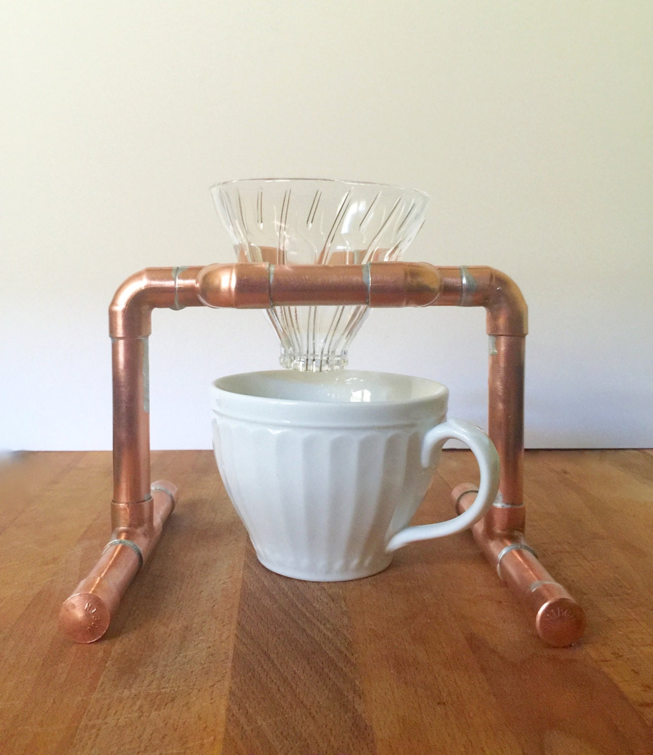 Pour Over Coffee Maker Stand : Pour Over Coffee Stand Drip Coffee Stand Copper Pipe