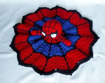 Spider-Man Inspired Lovey/Security Blanket