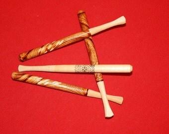 Wooden cigarette-holder for slim cigarette, Handmade cigarette holder