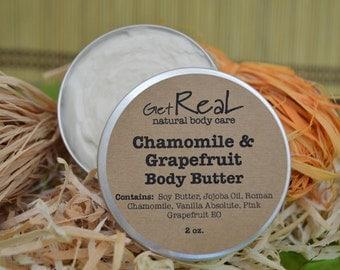 Chamomile & Grapefruit Body Butter