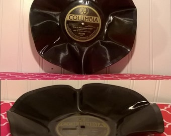 Upcycled Record Bowl