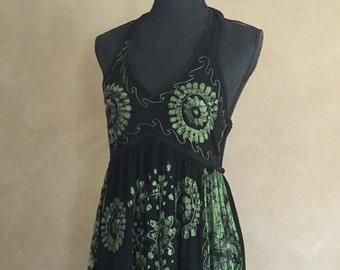 Vintage 90's Bohemian Maxi Dress