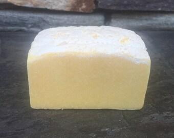 ORANGE Sea Salt Soap, Handmade Soap, Cold Process Soap, Detoxing Soap