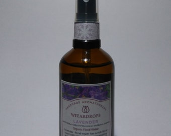 Organic Lavender Floral Water