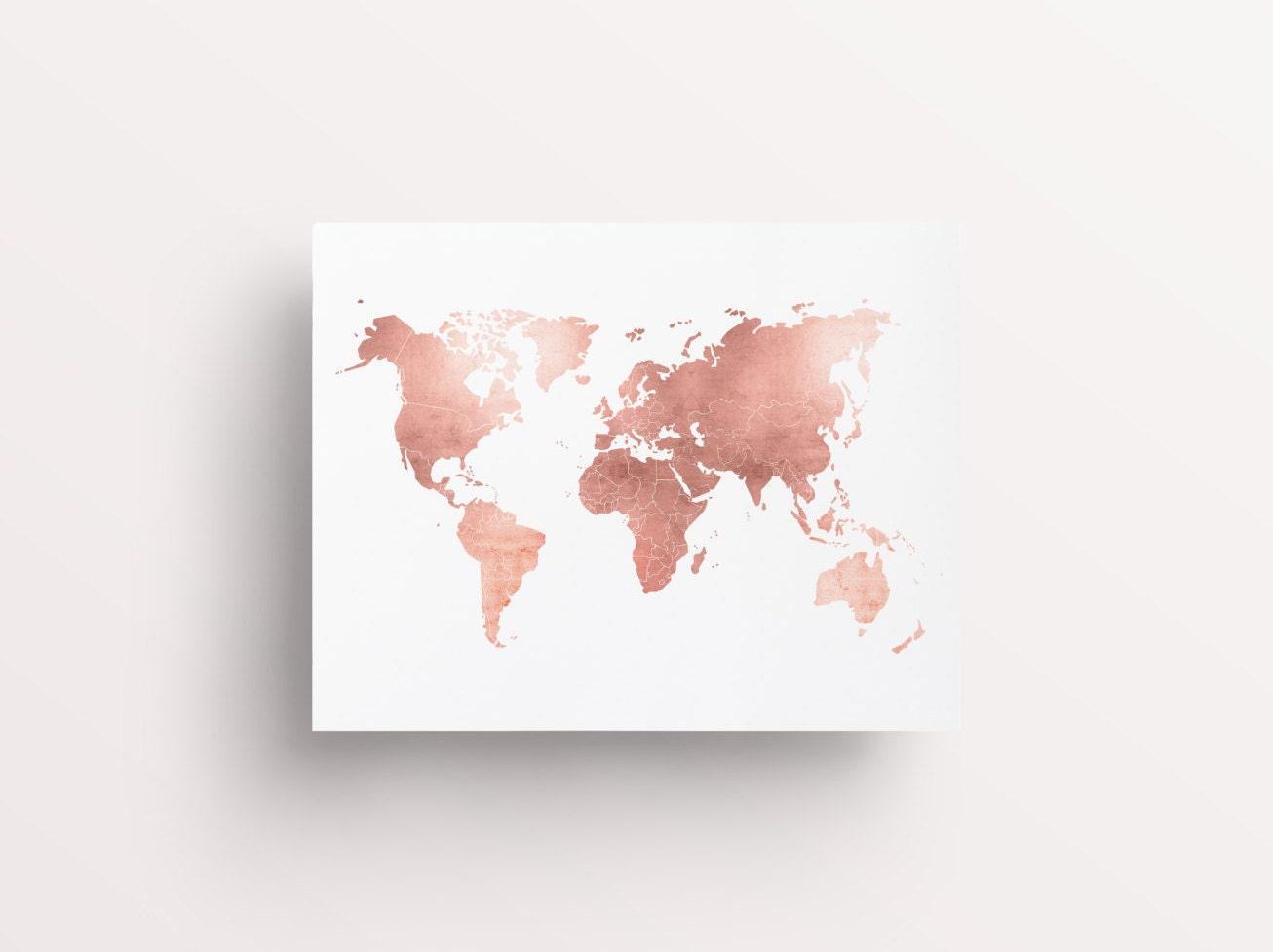 wallpaper world map gold - photo #40