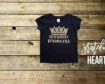 Birthday princess shirt, Princess shirt, Disney princess, Birthday girl shirt, Birthday shirt, One shirt, Two shirt, Toddler birthday shirt