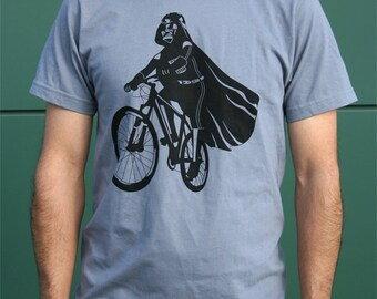 Darth Vader is Riding It - Mens t shirt (Star Wars  Darth Vader bike t shirt)
