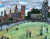 Original Painting: London Times