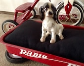 Radio Flyer Wagon Pet Bed, Repurposed, Upcycled Pet Furniture, Dog House, Cat House, Pet House