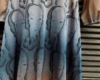 ART in my HeART - VNTG Pointillism Dress