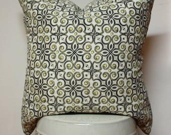 Moroccan pillow cover , Outdoor pillow cover, citron pillow cover, arabesque decorative pillow cover, citron pillow covers