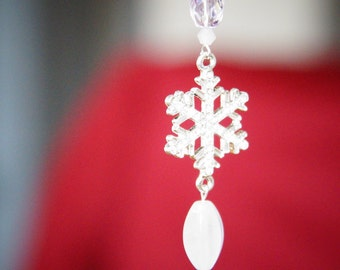 Snow Fairy Pendant, Necklace