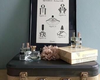 Art Deco parfume bottle