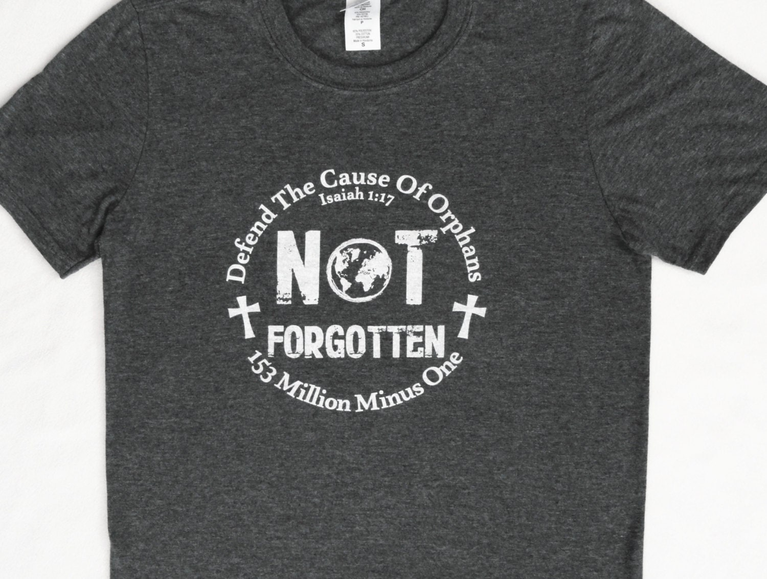 Adoption t shirt large fundraiser defend the cause of for Adoption fundraiser t shirts
