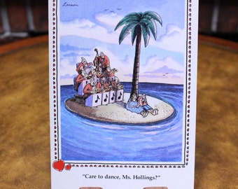 NEW. 12 Vintage 1982 to 1993 Far Side Valentine Cards and Envelopes.