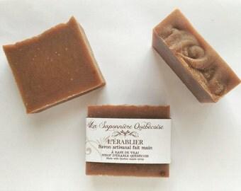 Savon L'Érablier, Savon artisanal fait main 100% naturel, Maple Soap, Cold process All Natural Handmade Soap