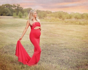 Maternity Gowns for Photography and Baby by JandLDesignsboutique