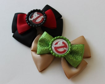 Ghostbusters Inspired Bow