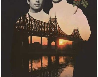 Simon and Garfunkel Bridge Over Troubled Water Color Rare Vintage Poster