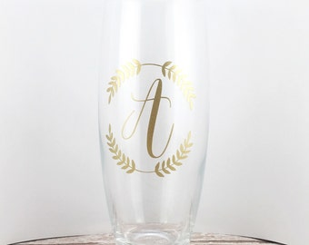 Personalized Champagne Glasses - Stemless Champagne Flutes - Stemless Champagne Glass - Monogram Champagne Glasses - Wedding Party Gifts