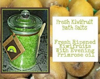 Fresh Kiwi Fruit Bath Salts