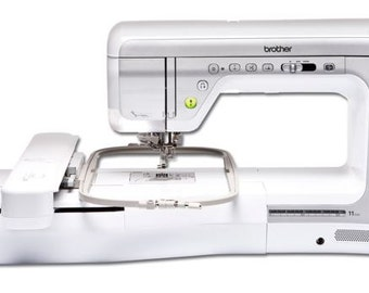 Brother Innov-is V5 sewing, quilting and embroidery machine.