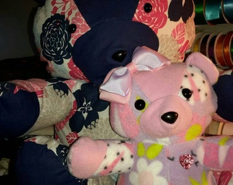 Large Teddy Bear Keepsake