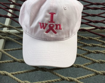 I Won - Light Pink Hat