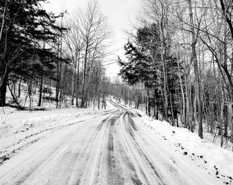 New York Photography, Snow print, snow photography, Upstate NY, Large photo print, Winter Photography, Fine Art Print