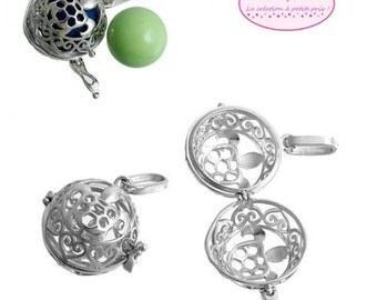 2 cages hearts for Pearl ball Bola 16mm