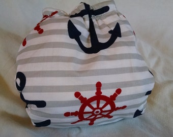 Anchors Fitted Diaper
