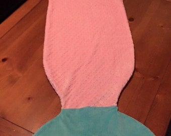 Mermaid tail, snuggle blanket....Mertails!