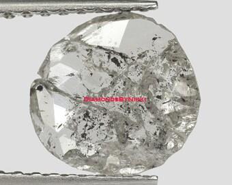 Salt And Pepper Diamond Ring Etsy