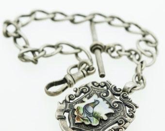 Silver Watch Albert  SKU678