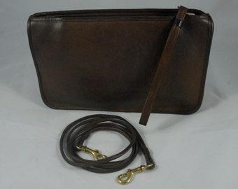 Vintage Coach Basic Bag in Mocha