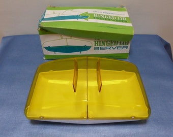 KristaWare Retro Vintage Food Server with Original Box